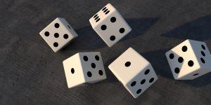 gambling, cube, play